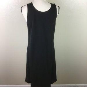 Eileen Fisher Black Sleeveless Dress